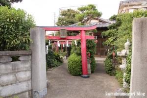 沓稲荷神社(川崎市多摩区宿河原)1