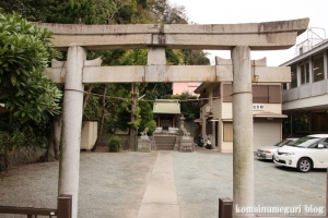 諏訪神社(鎌倉市御成町)1