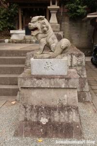 諏訪神社(鎌倉市御成町)6