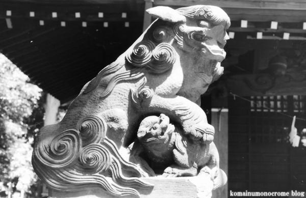 白幡神社(横浜市鶴見区東寺尾)3