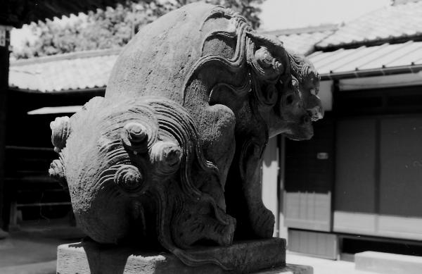 末吉神社(横浜市鶴見区上末吉)3