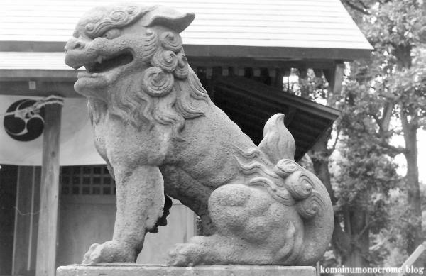 川中島神明神社(川崎区川中島)1