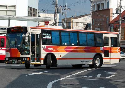 滋賀200 か・608 U-MP218M 1994年式 元南海バス