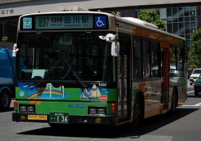 品97 天現時橋・品川駅 Y-E404(KC-HU2PMCE)