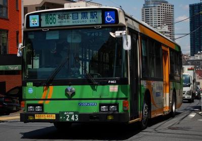 橋86 神谷町駅・目黒駅 A-F462(KC-HU2PMCE)