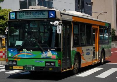 品97 天現時橋・新宿駅西口 Y-E404(KC-HU2PMCE)
