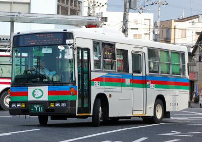 滋賀200 か・711 近江鉄道大津 KC-RM211GSN 1997年式 元西武バス