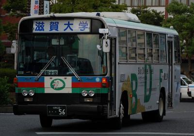 滋賀22 き・・56 近江鉄道八日市 P-RM81G 1988年式
