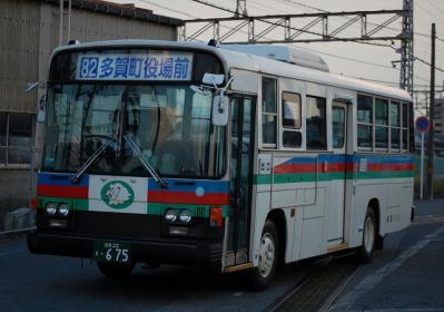 滋賀22 き・675 湖国バス彦根 P-RM81G 1988年式 元西武バス