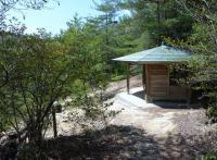 湿原の展望 東屋