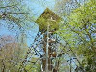 展望台より高い大木で展望が悪い・・・