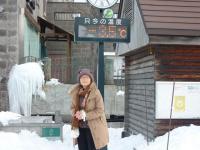 小樽運河 ー3度観光客 中国からの方が多かった。