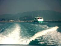 島への行き来は船便のみ 海上タクシー(幸進丸)チャーター