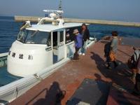 島のチャーター船 渡し舟