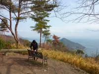 山頂広場 景観を眺めてお弁当