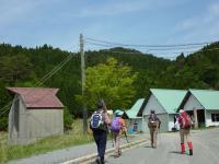 第2 9:34 駐車地 スキー場 これから登山道へと向かう歩き始める。