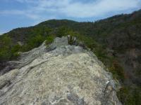 性根岩 反対方向から