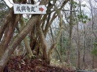 成興寺丸 次々に標識