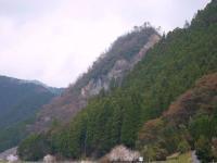 国道から臨む 矢筈山