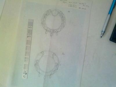K様 魔法騎士輝鏡(マジックナイトミラー) 製作過程 設計図