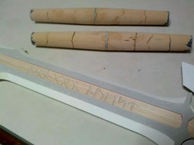 H様&S様 ロトの剣(王者の剣ver) ルーン文字刻印&つか造形