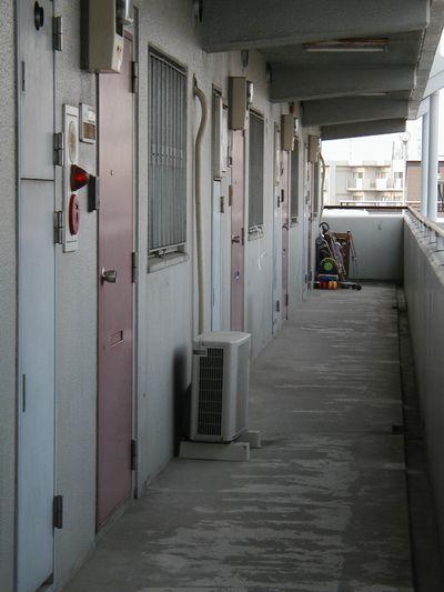 第一NK施工前廊下