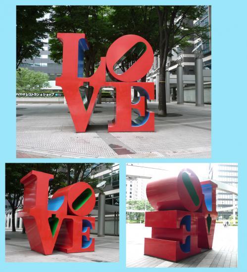 2012.07.21-3新宿のLOVEオブジェ