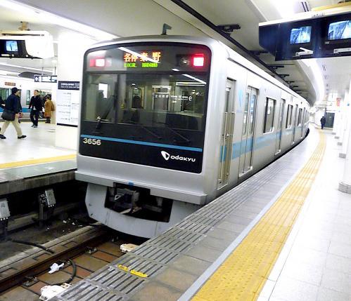 参宮駅から新宿へ〜小田原線