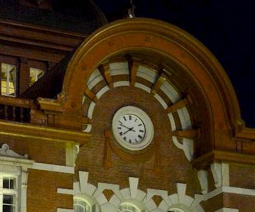 夜の東京駅2012-10