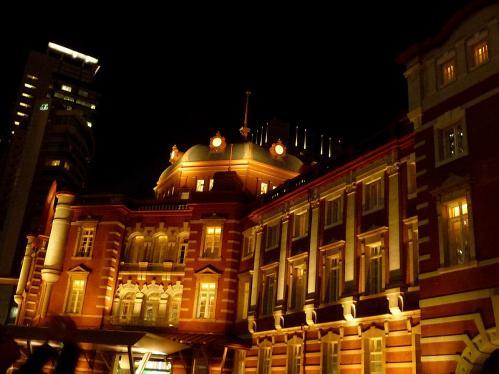 夜の東京駅2012-07
