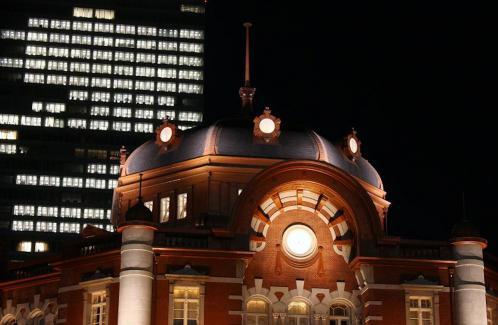 夜の東京駅2012-09