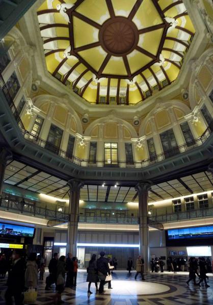 夜の東京駅2012-11