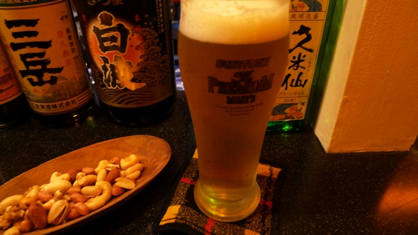 3ビール&ナッツ