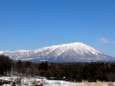 晴天の岩手山♪