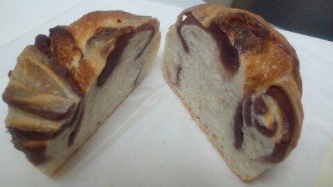 バタバタこしあんパン中身