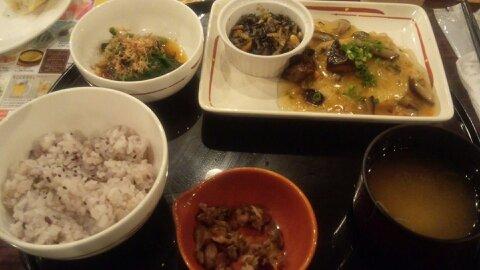 ガスト豆腐ハンバーグ