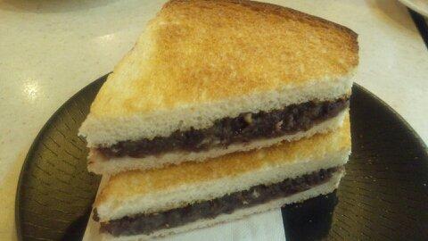 むらやま小倉トースト②