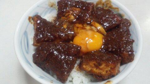 叶味噌カツ丼