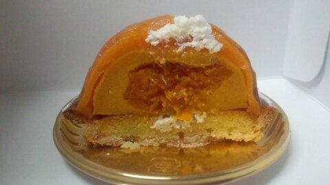 ブールミッシュかぼちゃタルト断面