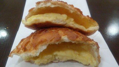 バタバタクリームパン②