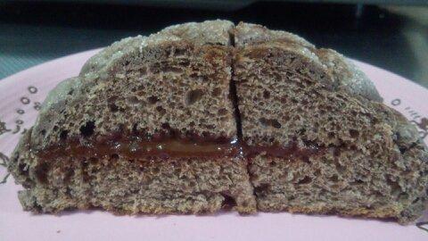 生チョコメロンパン⑤