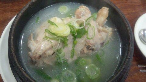 百済参鶏湯①