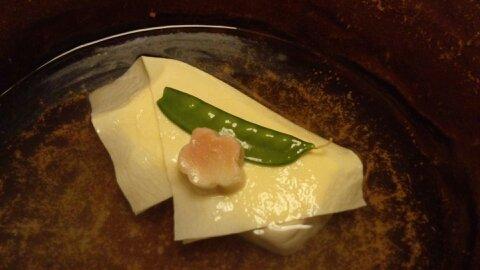 梅の花ランチ湯豆腐