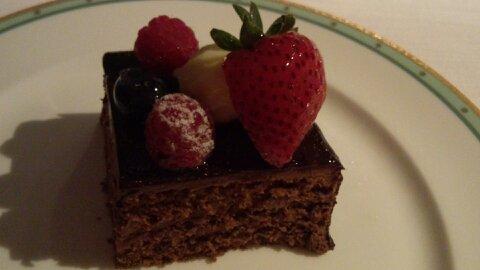 リーガロイヤルチョコケーキ⑤
