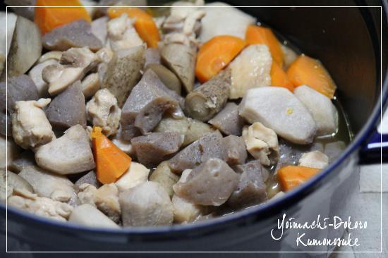 煮物 芋や根菜など