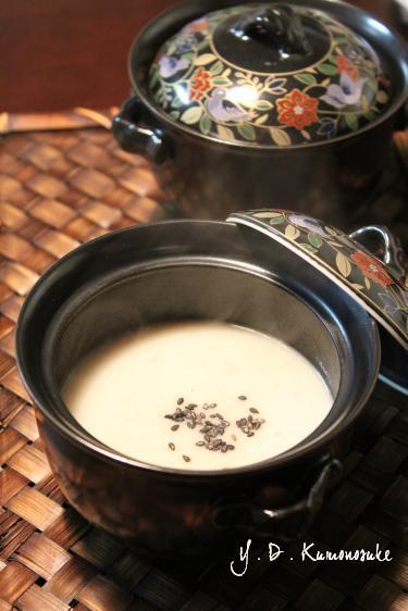 里芋豆乳ポタージュ