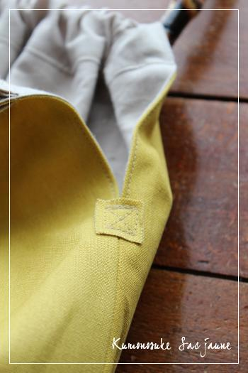 黄色いバッグ 2