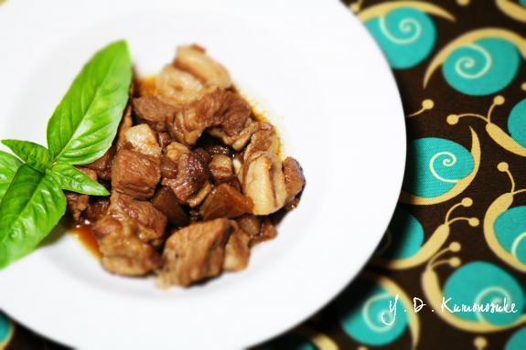 豚と林檎バルサミコ 2