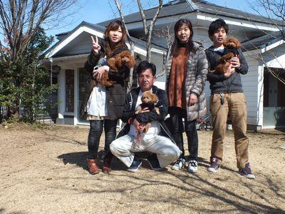 8.DSCF6417 Tプードル モコちゃんママ シュシュちゃん チャチャちゃん
