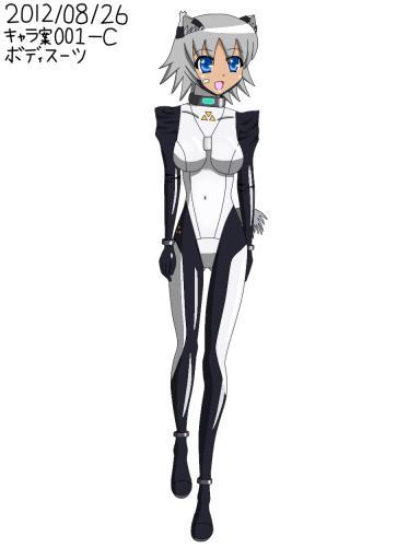 ライトノベル用キャラクター 案001C